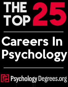 Top 25 Careers In Psychology Graphic