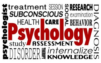 Bachelors in psych word cloud